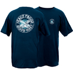 Peace Frogs Good Vibes Short Sleeve T-Shirt