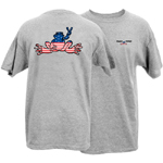 Peace Frogs Adult Granite American Frog T-Shirt