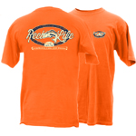 Peace Frogs Reel Life Frog Short Sleeve T-Shirt