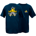 Peace Frogs Pediatric Brain Cancer Frog Short Sleeve T-Shirt