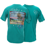 Peace Frogs Adult Island Time Short Sleeve T-Shirt