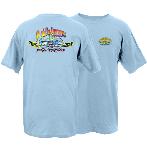 Peace Frogs Adult Puddle Jumpers Short Sleeve T-Shirt