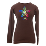 Peace Frogs Junior Peace Courage Thermal Long Sleeve Shirt