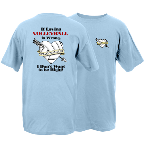 Peace Frogs Adult Loving Volleyball Short Sleeve T-Shirt