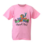 Peace Frogs Heart and Soul Short Sleeve Kids T-Shirt