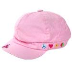 Pink Cabel Hat