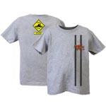 Peace Frogs Frog Crossing Short Sleeve Kids T-Shirt