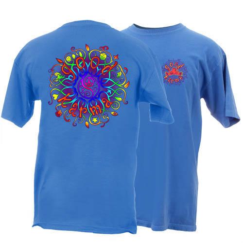 Peace Frogs Adult Good Karma Short Sleeve T-Shirt