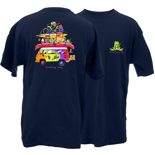 Peace Frogs Adult Loaded Van Short Sleeve T-Shirt