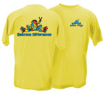 Peace Frogs Adult Embrace Differences Short Sleeve T-Shirt