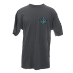 Peace Frogs Adult Tattoo Short Sleeve T-Shirt