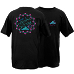 Peace Frogs Adult What A Wonderful World Short Sleeve T-Shirt
