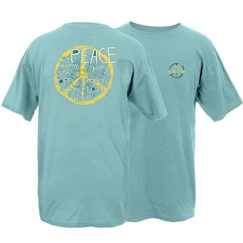 Peace Frogs Inspiration Frog Garment Dye Short Sleeve T-Shirt