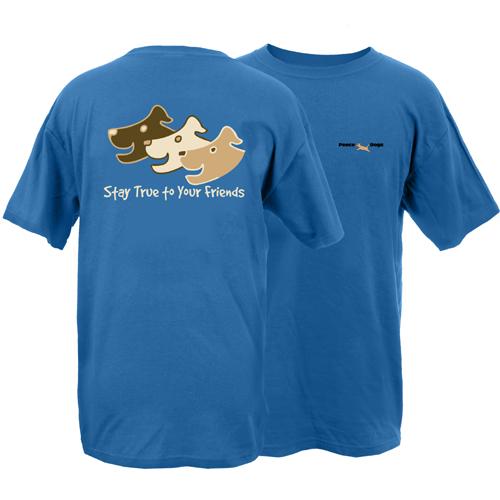 Stay True Peace Dogs Short Sleeve T-Shirt