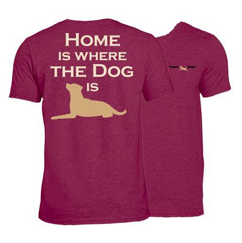 Home Dog Peace Dogs Short Sleeve T-Shirt