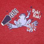 Peace Frogs Junior Pep Rally Baseball Jersey Long Sleeve T-Shirt