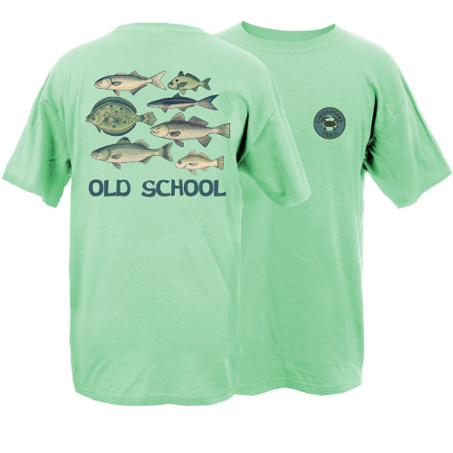 Chesapeake Tides Adult Old School Garment Dye Short Sleeve T-Shirt