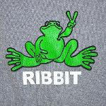 Peace Frogs Junior Ribbit Long Sleeve T-Shirt