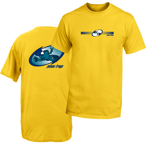 Peace Frogs Adult Ocean Groove Frog Short Sleeve T-Shirt