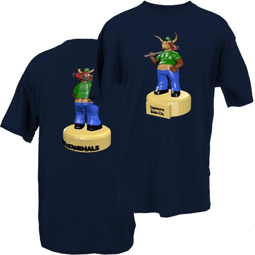 Beyond The Pond Adult Seymore Buttocks Short Sleeve T-Shirt