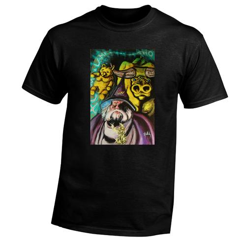 Beyond The Pond Adult Stock Brocker Wizard Short Sleeve T-Shirt