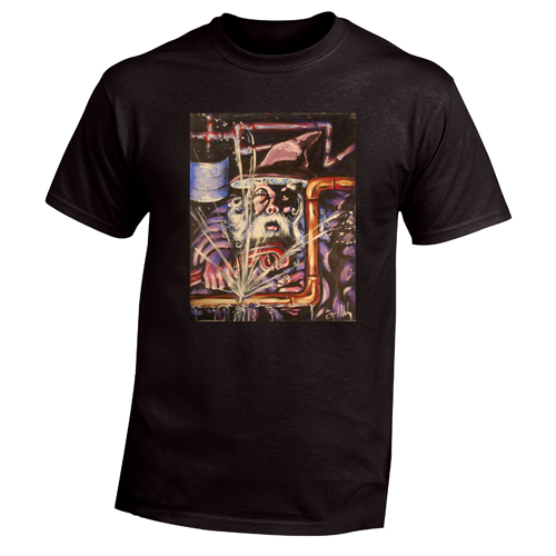 Beyond The Pond Adult Plumber Wizard Short Sleeve T-Shirt