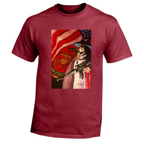 Beyond The Pond Adult Marine Wizard Short Sleeve T-Shirt