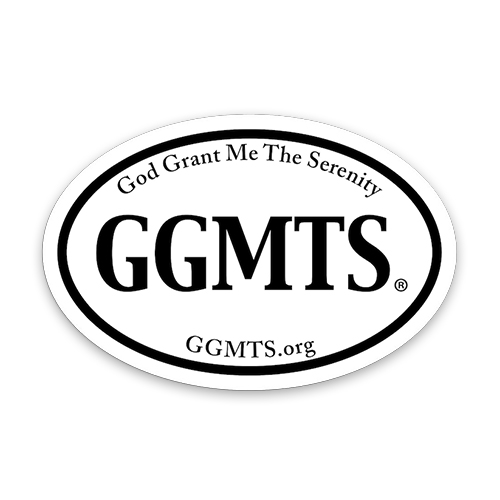 GGMTS Oval Sticker