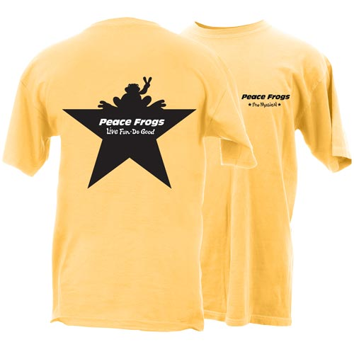 Peace Frogs Broadway Frog Short Sleeve T-Shirt