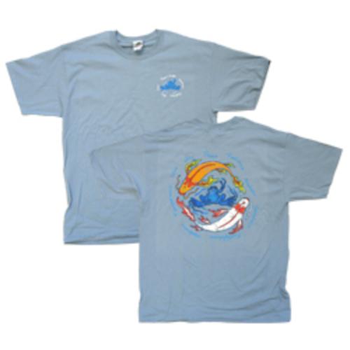 Peace Frogs Adult Koi Peace Short Sleeve T-Shirt