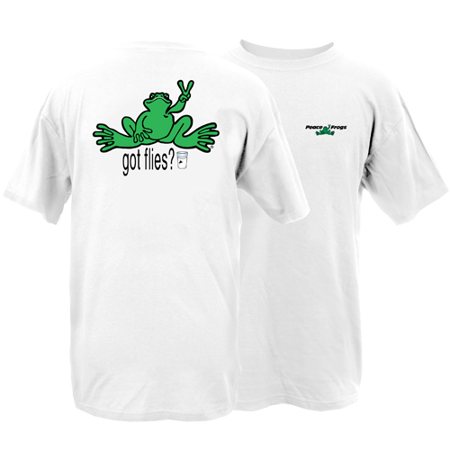 Peace Frogs Adult Milk Frog Short Sleeve T-Shirt