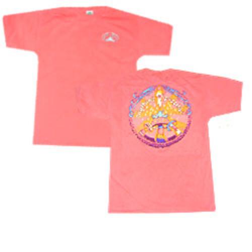 Peace Frogs Adult Toadstool Frog Garment Dye Short Sleeve T-Shirt