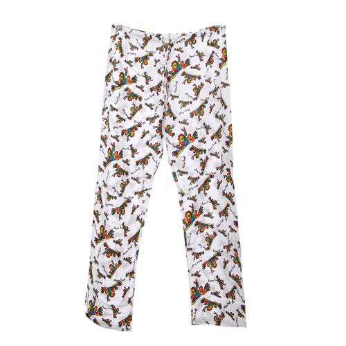 Peace Frogs Adult Retro Pajama Loungepant