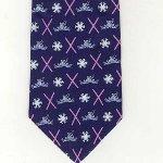 Peace Frogs Ski Neck Necktie