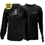 Peace Frogs Rest In Peace Adult Long Sleeve T-Shirt