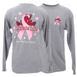 Peace Frogs Celebrate Life Adult Long Sleeve T-Shirt
