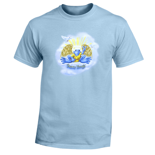 Peace Frogs Adult Radiant Angel Short Sleeve T-Shirt