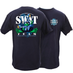 Peace Frogs Adult SWAT Team Short Sleeve T-Shirt