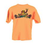 Peace Frogs Hope Short Sleeve Kids T-Shirt