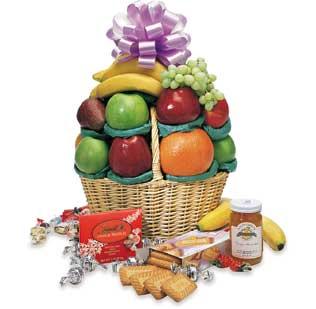 A Little Good Cheer Fruit Basket
