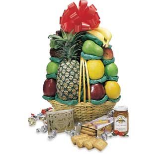 A Little Good Cheer & Beyond Gourmet Basket
