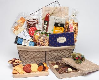Fruits to Nuts Gourmet Gift Basket