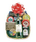 A Tray for Two Wine and Gourmet Basket