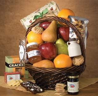 Abundantly Natural Fruit Gift Basket