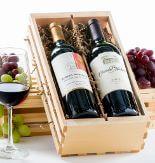 2-Bottle Wine Crate