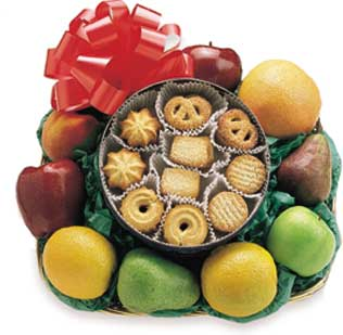 The Pinwheel Fruit  and Cookies Tray