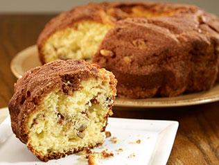 Applicious Walnut Coffee Cake