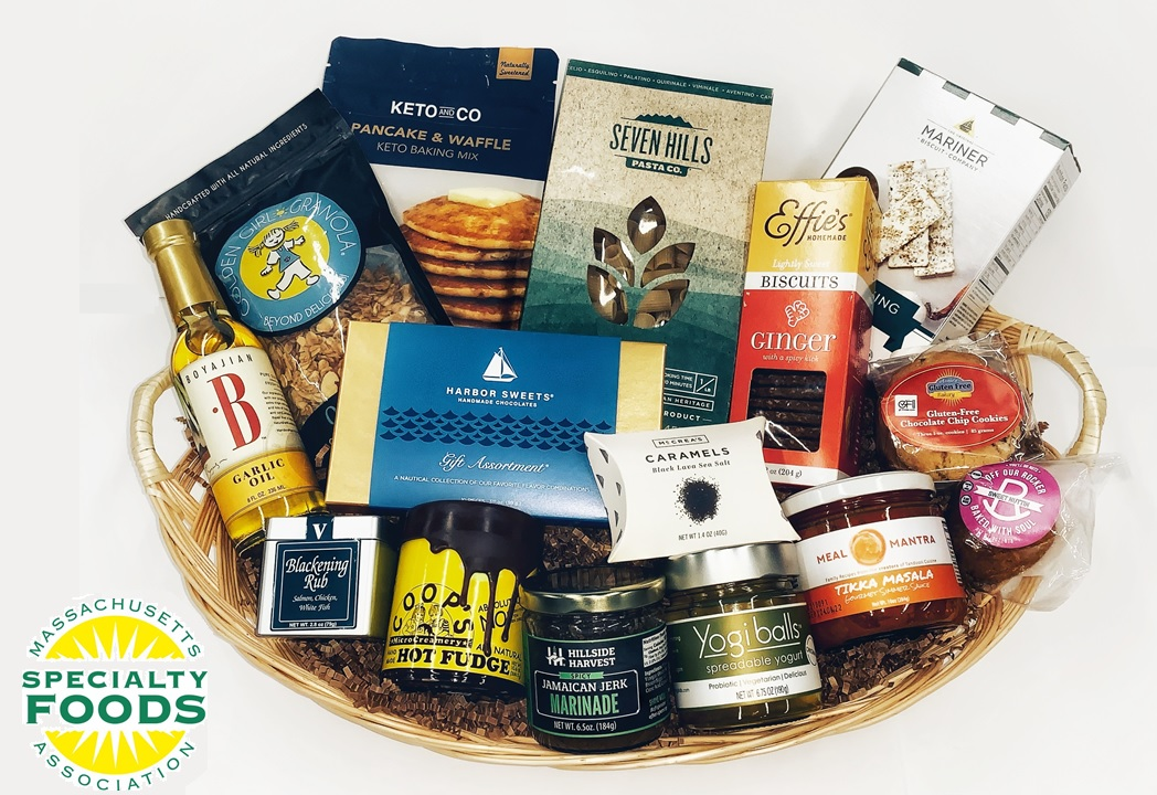Massachusetts Specialty Foods Thank You Basket - A