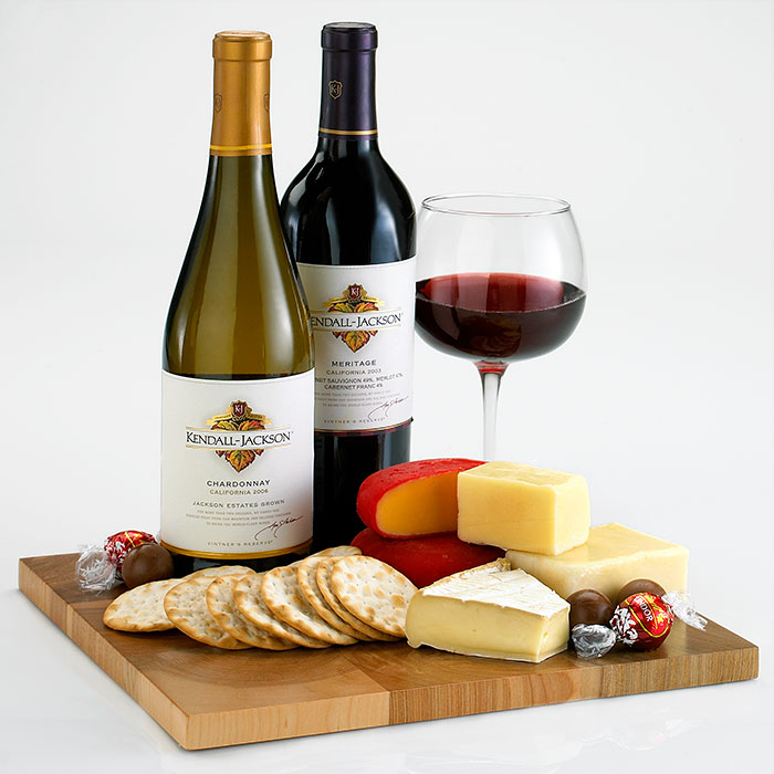 Wine & Cheese Baskets, Gifts for Wine