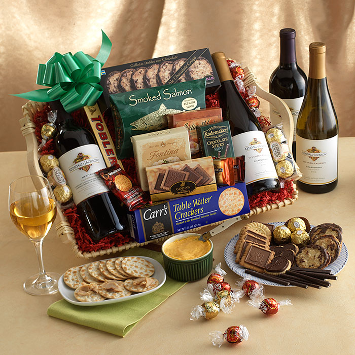 Kendall-Jackson Wine and Cheese Gift